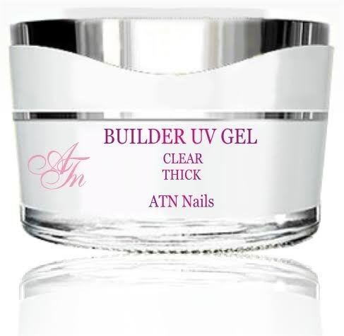 ATNails Builder nail UV Gel - crystal,clear THICK 5ml