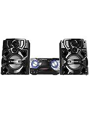 Panasonic - CD/ AM FM / 2x USB / Bluetooth Stereo System with Ultra Powerful Bass SC-AKX640K