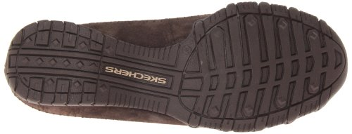 Pedestrian Bikers Donna collo Marrone a Scarpe basso Skechers Choc Marrone w65Hdqx