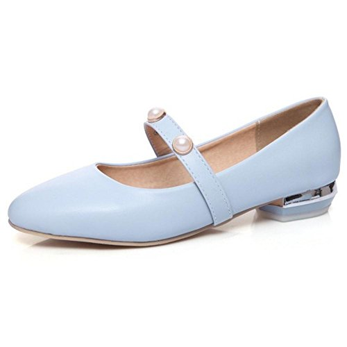 Size Shoes Blue On Women's Mary Court Asian Slip Fashion 31 Jane TAOFFEN Flat xAwqUv8C8