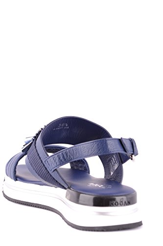 Hogan Ladies Mcbi148444o Sandali In Pelle Blu