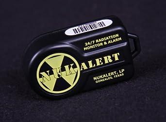 NukAlert™ nuclear radiation detector / monitor (keychain attachable) alarm