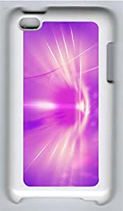 iPod 4 Cases & Covers - Radiant Background Custom PC Soft Case Cover Protector for iPod 4 - White