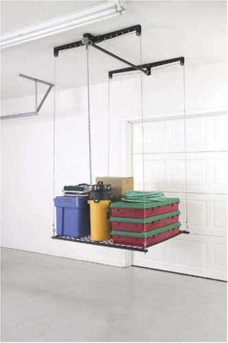 racor phl1r pro heavylift 4by4foot cablelifted storage rack ceiling mounted general purpose storage racks amazoncom