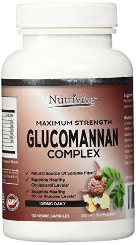 Glucomannan Maximum Strength Glucomannan Complex Konjac Root with ChromeMate® CM-100M.
