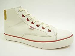 Levis Louisiana Hi Lace Canvas Sneaker