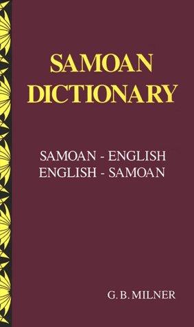 Samoan Dictionary: Samoan-English, English-Samoan...