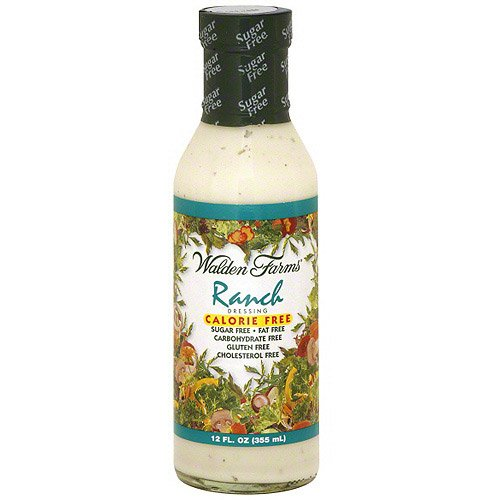 Calories Ranch Dressing (Walden Farms Calorie-Free Ranch Dressing, 12 oz (Pack of 6))