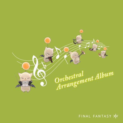 FINAL FANTASY XIV Orchestral Arrangement Albumの商品画像