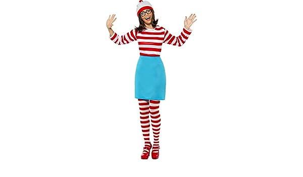 Disfraz de Dónde está Wally: Wenda para Mujer: Amazon.es: Juguetes ...