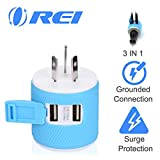 Australia, New Zealand, China Travel Plug Adapter by OREI with...