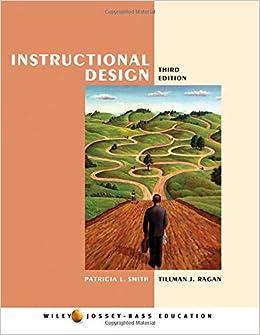 Instructional Design: Patricia L. Smith, Tillman J. Ragan: 9780471393535:  Administration: Amazon Canada