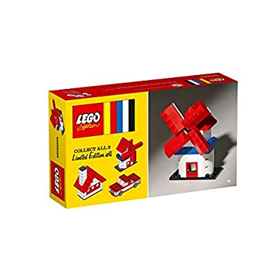 LEGO Classic 60th Anniversary Limited Edition Windmill 4000029: Toys & Games