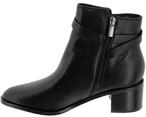 Boots Poise Leather Black Womens Freya Ankle 26136006 4qnZg
