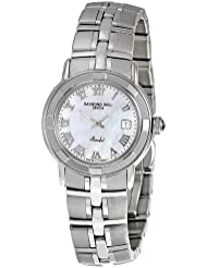 Raymond Weil Womens 9441-ST-00908 Parsifal Mother-Of-Pearl Dial Watch