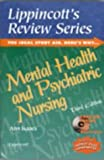 Lippincott's Review Series, Mental Health and Psychiatric Nursing (Book with CD-ROM)