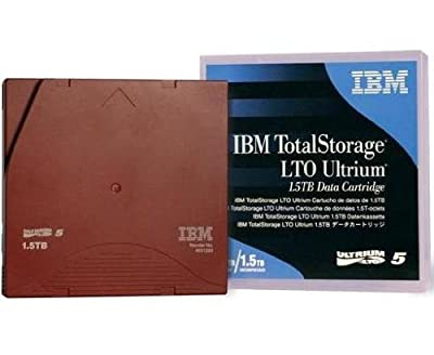 10 Pack IBM LTO-5 Ultrium Tape 1.5TB/ 3TB, Part # 46X1290- 10PK by IBM