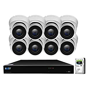 Flashandfocus.com 41MFBe23XmL._SS300_ GW Security 8 Channel Smart AI PoE NVR Ultra-HD 4K (3840x2160) Security Camera System with 8 x 4K (8MP) 2160P Face…