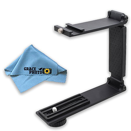 Flash Twin Softbox Kit (Mini Portable Folding Bracket + Grace Photo Cleaning Cloth)