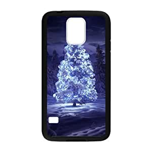 Festive Christmas Tree In This Cold Winter Feel Particularly Warm Iphone 5c Case Cover Shell (Laser Technology)