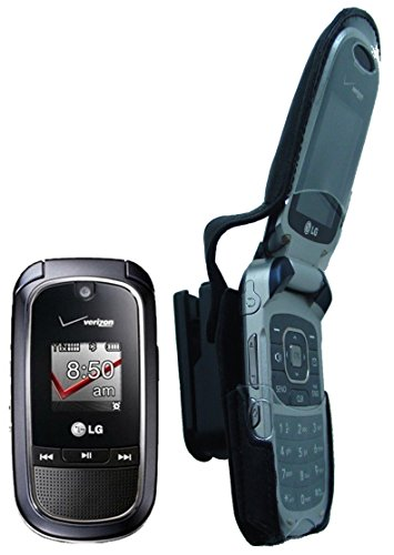LG vx8360 vx-8360 Fine Leather open talk Holster 8360 l.g Face Cover Belt clip Case Mobile cell flip flipper cellular mobile hand held smart phone holder