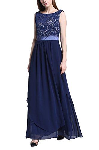 Kleid a linie ohne armel