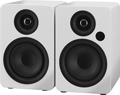 IMG STAGELINE SOUND-4BT/WS actieve 2-weg stereo luidsprekerboxsysteem wit