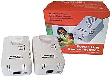 SATKIT Pack 2 PLC Ethernet [Internet por Red Eléctrica ]: Amazon.es: Electrónica