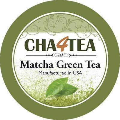Cha4TEA 18-Count Matcha Green Tea Pods For Keurig K-Cup Brewers