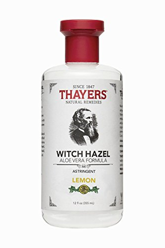 Thayers Witch Hazel Astringent with Aloe Vera Formula, Lemon, 12 Fluid Ounce - Packaging may vary ()