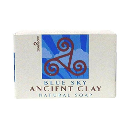 Zion Health Clay Soap Blue Sky, 6 Fluid Ounce