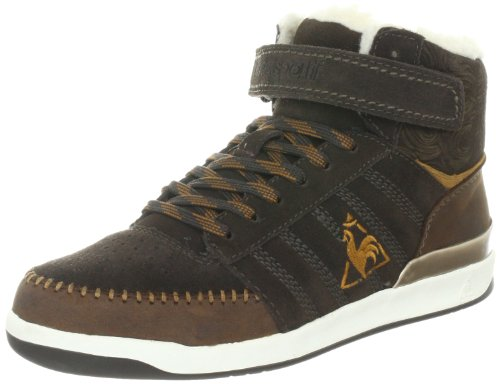 Le Coq Sportif Diamond Mid, Women's Lace-Up Grau (After Dark)