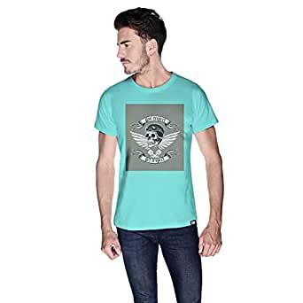 Creo Give Respect T-Shirt For Men - S, Green
