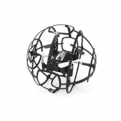 WonderTech Drone W109 Cyclone Drone with Easy to Fly Technology | Black