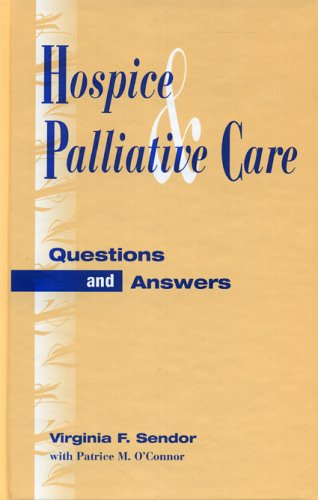 Hospice and Palliative Care by Brand: Scarecrow Press