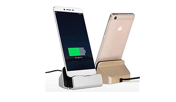 Theoutlettablet® Dock Cargador/Sincronización para Smartphone Leeco Le 1S / 2 / Pro / 3 Pro/Maxcon conexión USB Type-C: Amazon.es: Electrónica