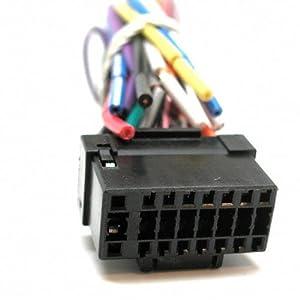 41MFFJJZyZL._SY300_ amazon com best kits alpine 16 pin original head unit wiring wiring harness for alpine head unit at n-0.co