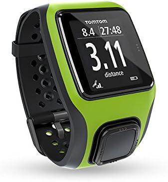 TomTom Multi-Sport - Reloj GPS para triatlón, color verde: Amazon ...