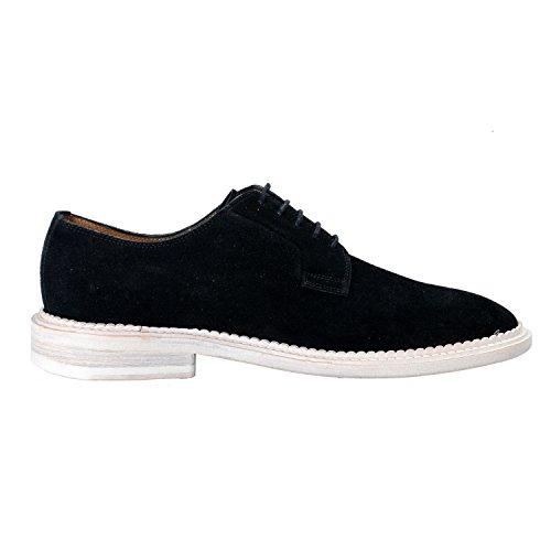 Marc Jacobs Mens Black Nubuck Leather Oxfords Shoes US 10 IT 9 EU 43 KNe29G1Cet