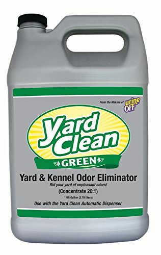 Urine Off BU1029 20:1 Concentrate 1 Gallon Clean Green(TM) Yard and Kenner Odor Eliminator (Yard Odor Killer Stool Urine Deodorizer Review)