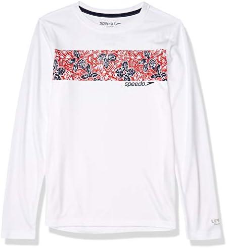 ボーイズ UVスイムシャツ 長袖 Tシャツ グラフィック L