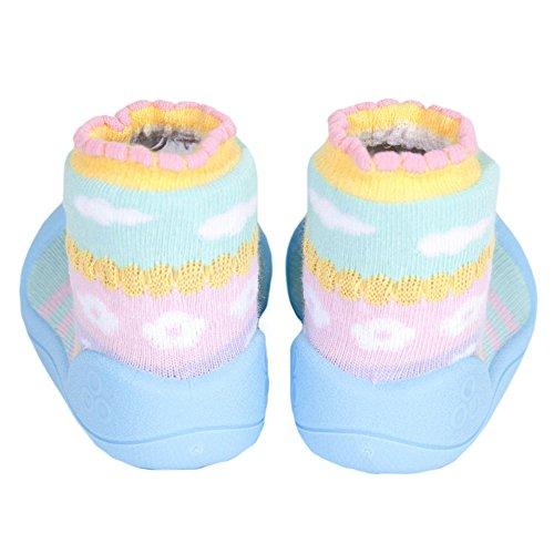 Attipas , Chaussures premiers pas pour bébé (fille) bleu bleu 22.5