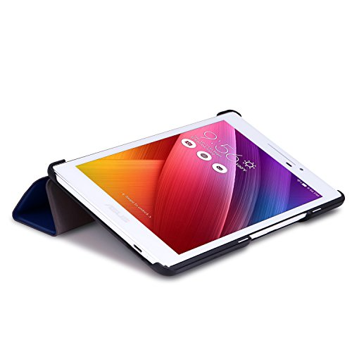 MoKo ASUS Zenpad 7.0 Case - Ultra Slim Lightweight Smart-shell Stand Cover Case for ASUS Zenpad 7.0 Z370C 2015 Tablet, INDIGO Índigo