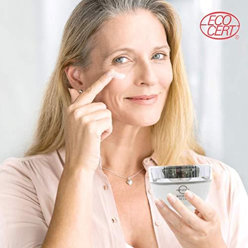 41MFIHG9hpL - O Naturals Organic Advanced-Repair Hydrating Rosehip Oil Night Face & Neck Cream. Face Moisturizer. Anti-Aging Moisturizes Dry Skin Anti-Wrinkles Reduce Scars Boost Collagen Vitamin E Non Greasy 1.7oz
