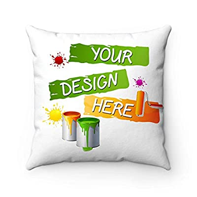 Unicorn Pillow, Kids Room Unicorn Decor, Personalized Pillowcase, Girls Sleepover Favor,Custom Name,Custom Picture: Home & Kitchen