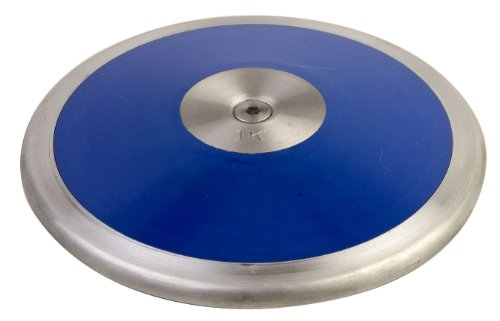 Champion Sports Low-Spin Competition ABS Plastic Discus (1.6 kg)