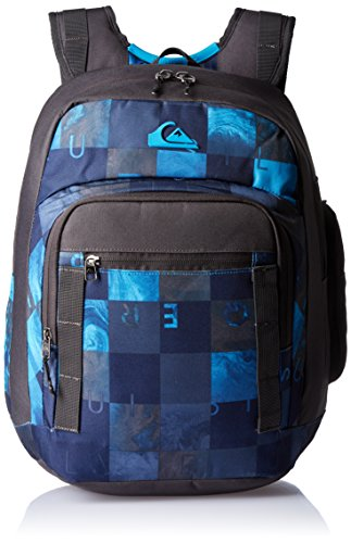 Amazon.com: Quiksilver Schoolie Backpack One Size Checks Hawaiian Ocean: Clothing