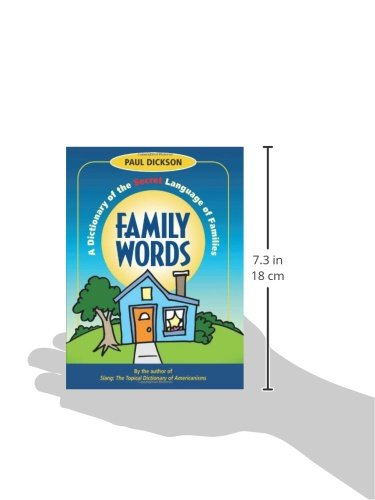 Family Words: A Dictionary of the Secret Language of Families (How America Speaks series) by Brand: Marion Street Press, LLC