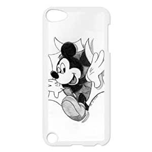 Popular And Durable Designed TPU Case with Disney Mickey Mouse Minnie Mouse iPod Touch 5 Case White