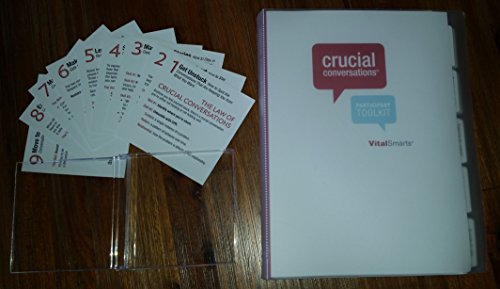 Crucial Conversations (Participant Toolkit-book only) (Toolkit For Conversations)